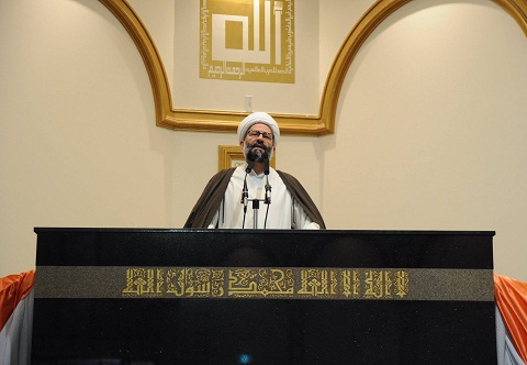 Photo of Sheikh Youssef Nabha praises the efforts of the Iraqis on the Liberation of the city of Mosul