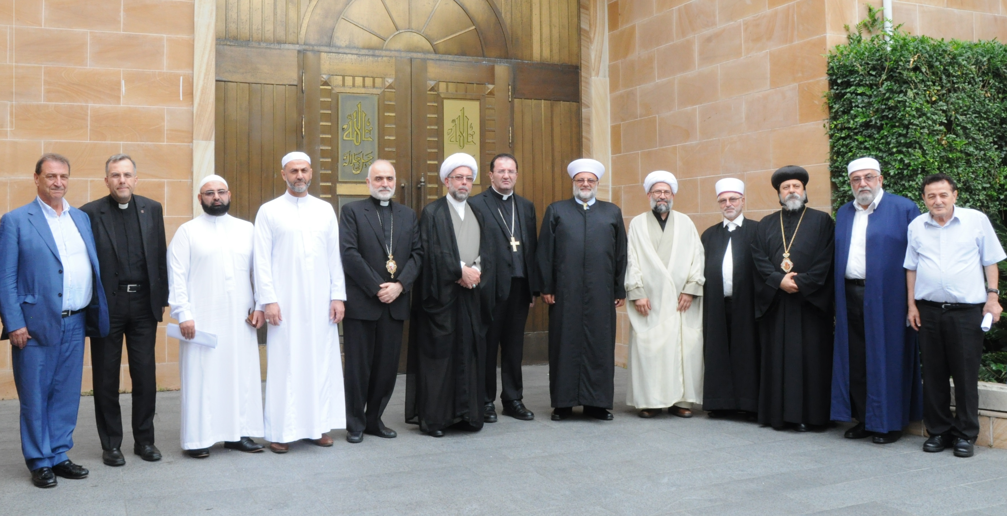 Photo of Representatives from the Islamic and Christian communities in Sydney on Al-Quds: No one can confiscate its identity or sanctity or change its landmarks by Judaizing it.