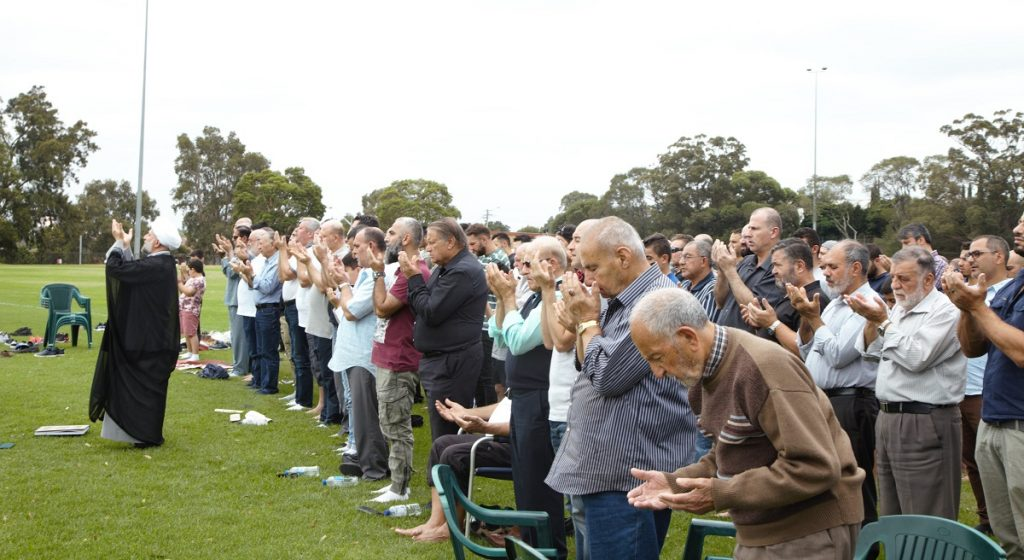 Photo of The Muslim community in Sydney pray for rain